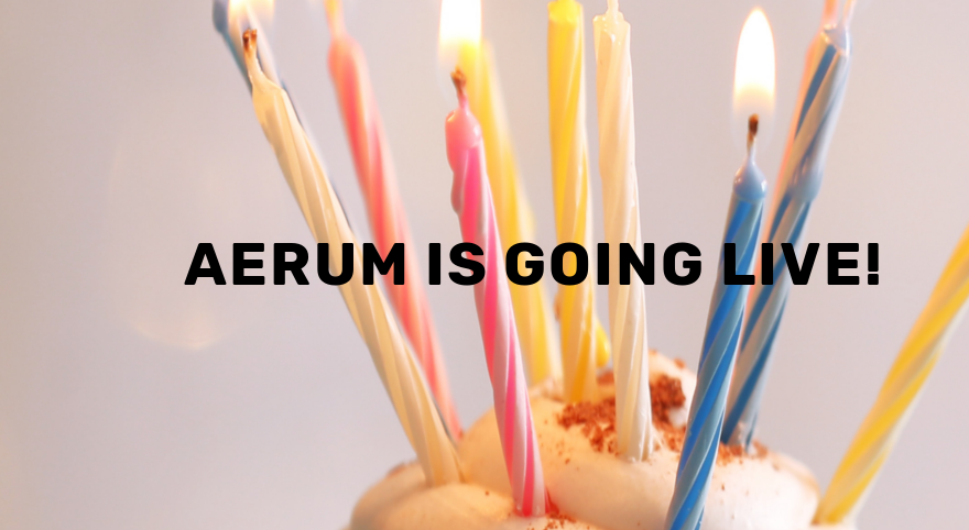 Aerum is going LIVE!